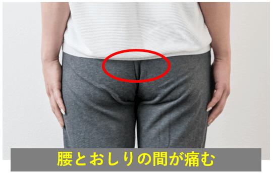 仙腸関節障害の症状
