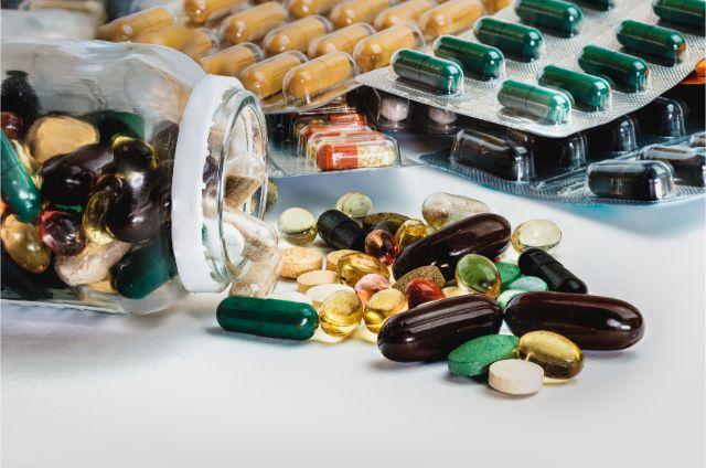 数多くの薬